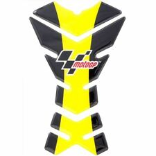 Official MotoGP 3 Piece Motorcycle Motorbike Tank Pad Protector Yellow Black New