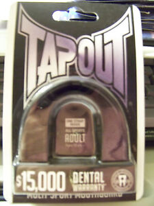TAPOUT Multi-Sport Mouthguard ADULT 12+ All Sports BRAND NEW - FREE SHIP