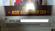 Overwatch Widowmaker Noire Legendary Skin PC Region Free!*