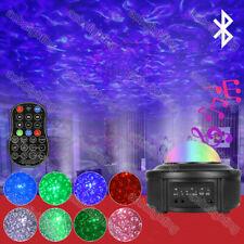 USB Bluetooth starry sky Ripple Projector Light Music Star LED Disco Laser Light