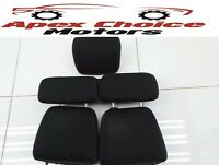 Mazda 6 MK2 GH Set Of 5 Headrest Head Rest Front Rear Right Left