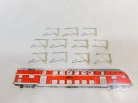 CD776-0,5# 11x Märklin H0 7525 Ausleger (K-Gleis/M-Gleis) für Oberleitung, NEUW