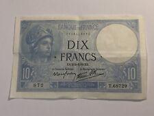 Billet France 10 Francs Minerve 2-2-1939 (99-9)