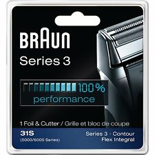 Braun 31s  Series 3 Combi Foil And Cutter Replacement Pack (Formerly 5000/6000)