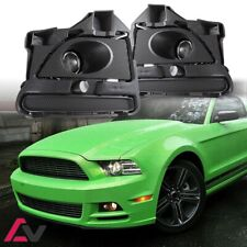 13-14 For Ford Mustang Clear Lens Pair OE Fog Light Lamp+Wiring+Switch Kit DOT