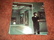 Seiji Ozawa - Chicago Symphony SUPER RARE USA pressing LP LSC-2977  - Mint / EX+