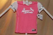 St. Louis Cardinals MLB Fan Fashion JERSEY/Shirt  MAJESTIC Girls Large sz 14 NWT