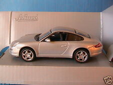 PORSCHE 911 CARRERA S COUPE SILVER SCHUCO JUNIOR 27283 1/43 SILBER ARGENTE