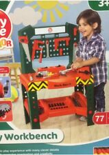 Toy Workbench Kids Childrens Tool Kit Bench DIY Work Station Working Drill Play