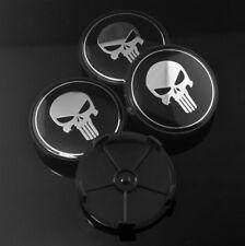 4pc 69mm (64mm) Skull Evil Skeleton Custom Wheel Center Cap For E90 E91 E92 E93