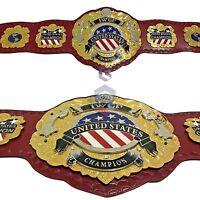 CHAMPS IWGP United State Championship Belt Heavyweight Replica Metal Plates