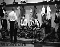 NHL 1960's Toronto Maple Leafs Dressing Room 5 HOF Sawchuk Horton 8 X 10 Photo