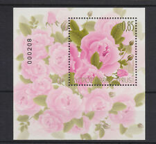 CYPRUS MNH STAMP SHEET 2011 AROMATIC FLOWERS ROSES SG 1244 SCENTED