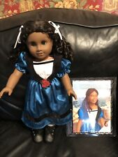 American Girl Retired Cecile Doll. Excellent In Full Meet Outfit