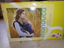 Manduca Tragetasche neu OVP Trage Tragetuch Bauchtrage Baby