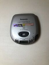 Panasonic S-S362C Car Portable CD Player S-XBS 40 Seconds Anti-Skip TESTED WORKS