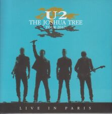 "U2 "" LIVE IN PARIS July 26th 2017, 2 CD DIGIPACK"""