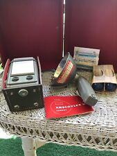 VINTAGE 1950s ANSCO ANSCOFLEX II CAMERA WITH CASE + original Box