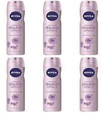 6 x NIVEA deodorante corpo Spray DOUBLE EFFECT offerta in stock