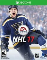 XBOX ONE XB1 GAME NHL 17 2017 HOCKEY BRAND NEW AND SEALED