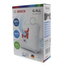 Genuine Bosch Type G Vacuum Cleaner Microfibre Dust Bags 4 Pack