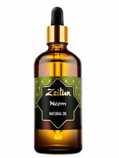 Neem oil, extra quality, 100% pure oil azadirakta indica 100 ml