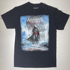2013 Assassins Creed Black Flag T-Shirt MEDIUM Video Game Pirate Ubisoft