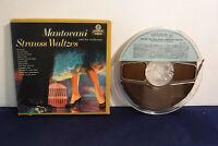 Mantovani, Strauss/American Waltzes, LPK 70063, 4 track 7.5 IPS Reel To Reel