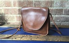 COACH flap Over Small TAN CROSS BODY bag 0622-127 US made