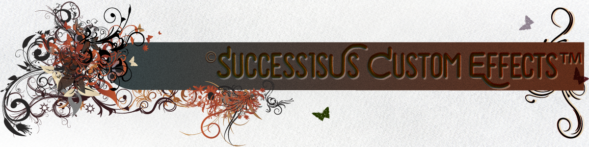 ©SuccessisUs Custom Effects™