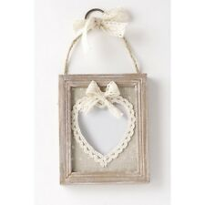 VINTAGE SHABBY CHIC STYLE - PICTURE PHOTO FRAME - LACE - NEW