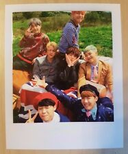 BTS Group Young Forever official Polaroid photo card