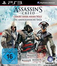 Assassins Creed - Die Amerikanische Saga - PS3 - *NEU*