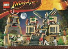 LEGO INDIANA JONES 'TEMPLE OF THE CRYSTAL SKULL' #7627  100% COMPLETE GUARANTEE