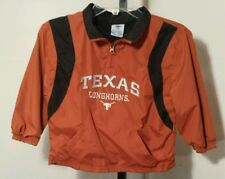 Texas Longhorns NCAA Pullover Windbreaker Jacket Size kids Medium (10-12)