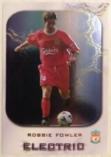 Futera LIVERPOOL 2000 Robbie Fowler Electric Card - Limited Edition Insert