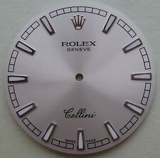GENUINE ROLEX CELLINI DANAOS MEN'S WATCH PART DIAL SILVER NEW HARD TO FIND!!!