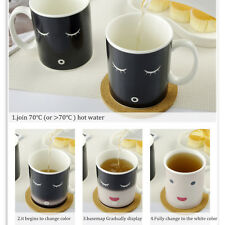 Magic Color-Changing Cup Temperature Sensitive Heat Ceramic Tea Milk Coffee Mug