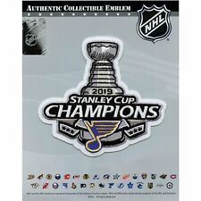 2019 NHL Stanley Cup Final Champions St Louis Blues Commemorative Jersey Patch