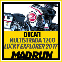 Kit Adesivi Ducati Multistrada 1200 Lucky Explorer - High Quality Decals
