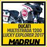 Kit Adesivi Ducati Multistrada 1200 Lucky Explorer - High Quality Decals