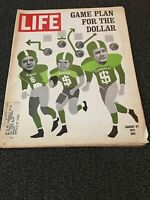 LIFE MAGAZINE AUGUST 27, 1971 GAME PLAN FOR THE DOLLAR GOOD CONDITION