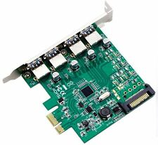 ACS Desktop PCI-E to USB 3.0 Expansion Card 4 USB 3.0 Expansion Cards NEC Chip