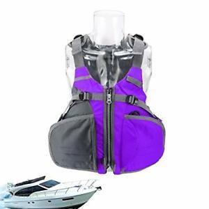 Fishing Vest, Fly Fishing Vest Coat Jacket Adjustable Adult Size for Women Men