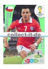 Panini Adrenalyn XL World Cup 2014-330-Alexis Sanchez-fans favourite