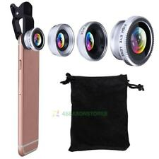 3in1 180° Fish eye+Wide Angle + Macro Camera Photo Zoom Lens for iPhone 8 plus