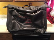 Vintage USMC Marines Leather Garment Travel Bag