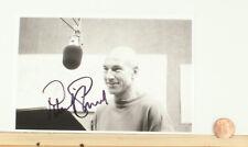 Patrick Stewart Signed 4x6 Photo w/coa  Star Trek