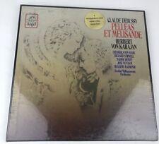 New Sealed Claude Debussy Pelleas Et Melisande, Stilwell, Karajan Vinyl Angel