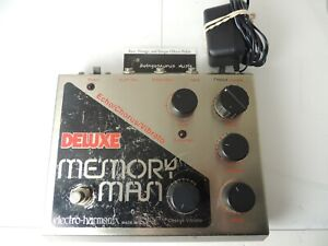 Electro Harmonix Deluxe Memory Man Delay Effects Pedal w/24-Volt Power Supply